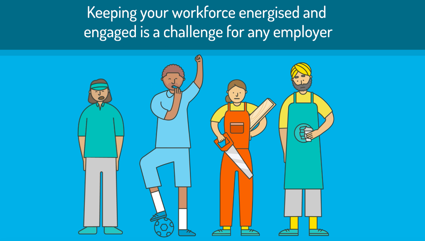 Looking for ways to keep your workforce engaged?