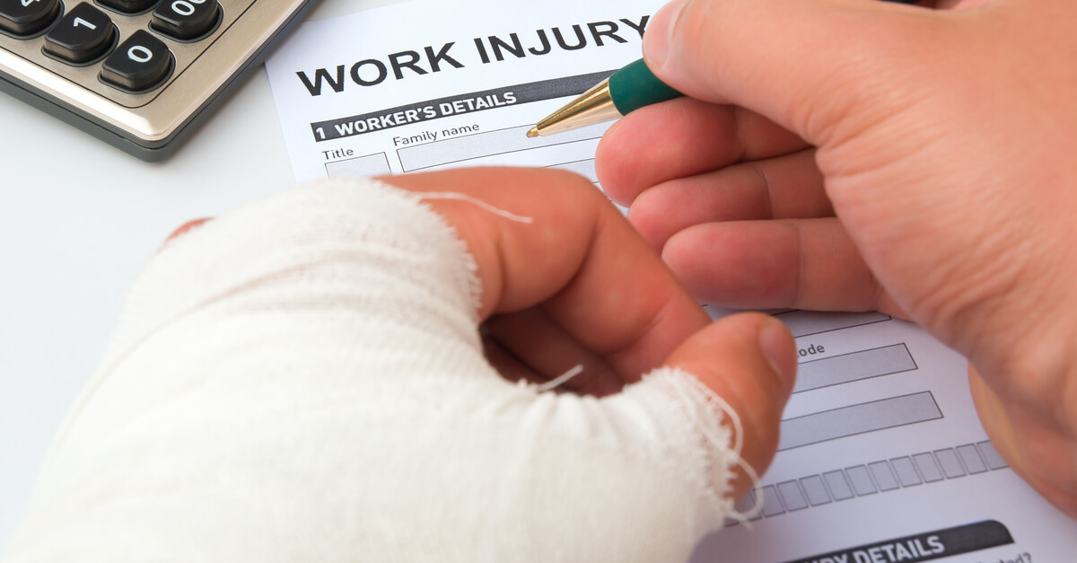 work accident book