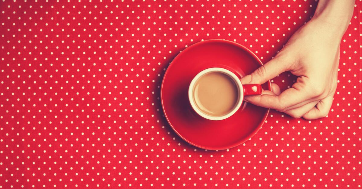 small handled coffee mug