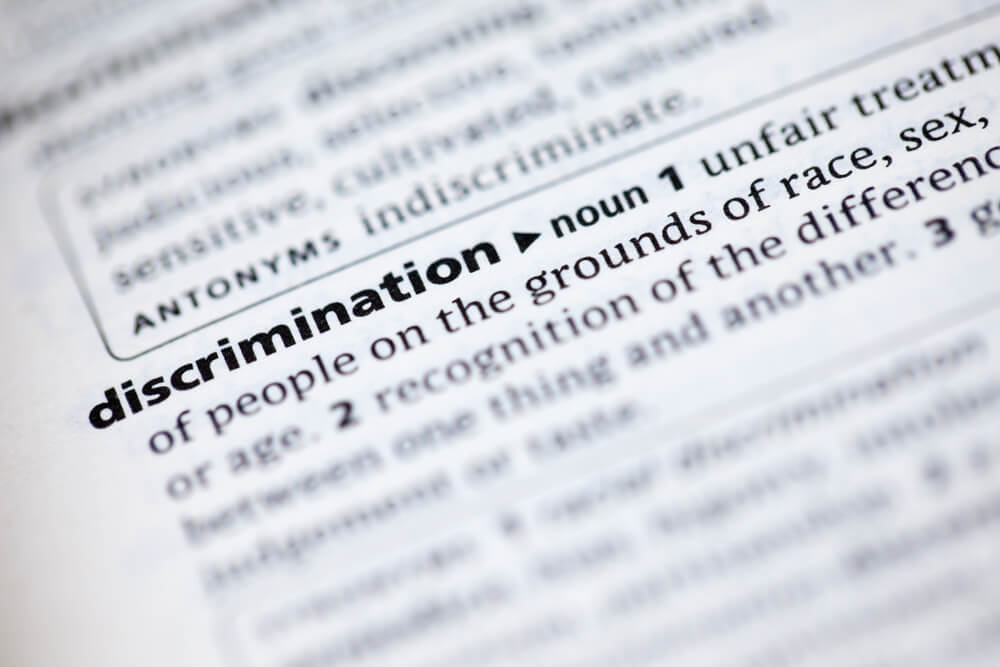 Definition of discrimination dictionary