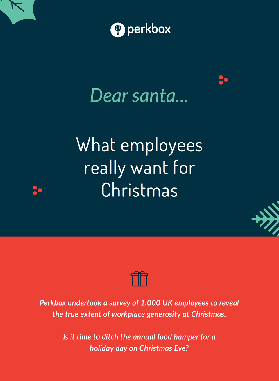 What employees really want for Christmas