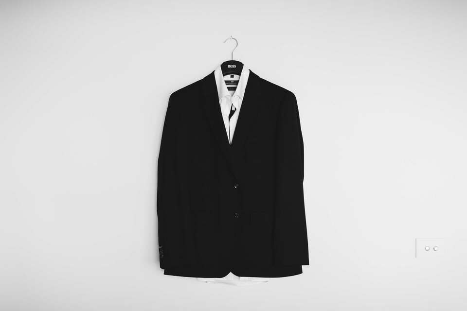 good supervisor black and white picture of a suit