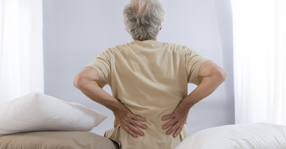 Low back pain in the old