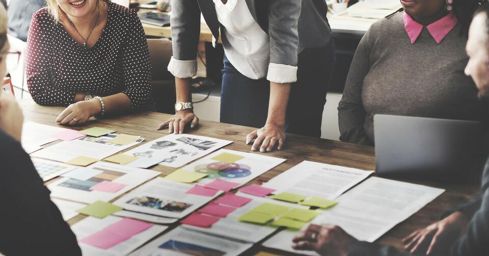 Employee data on table
