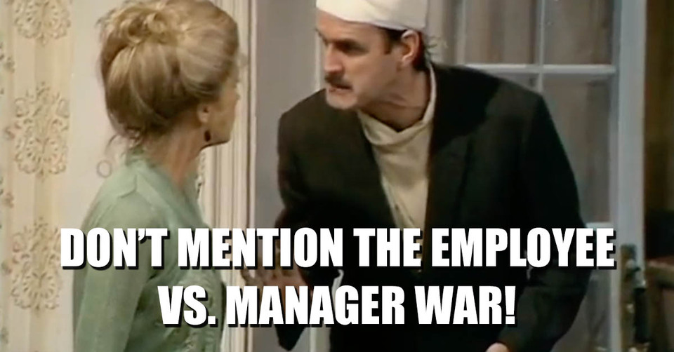 Basil fawlty leadership