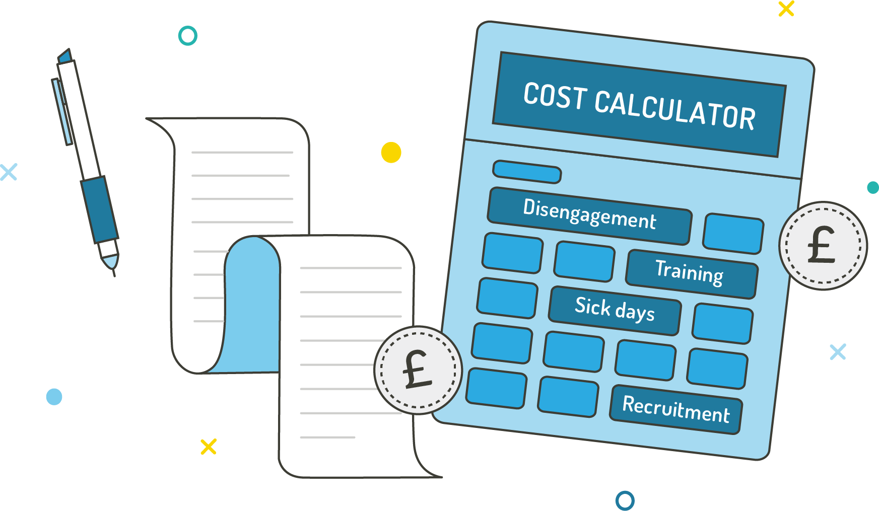 Disengagement Cost Calculator