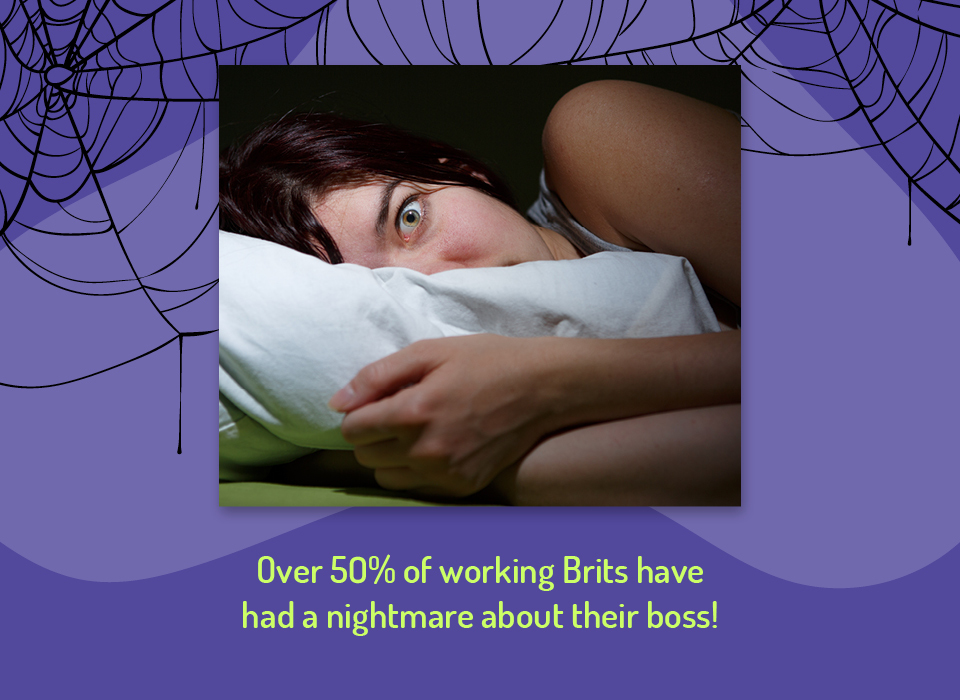 50% of employees have had a nightmare about their boss