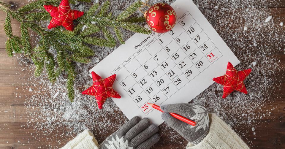 Planning the work Christmas rota