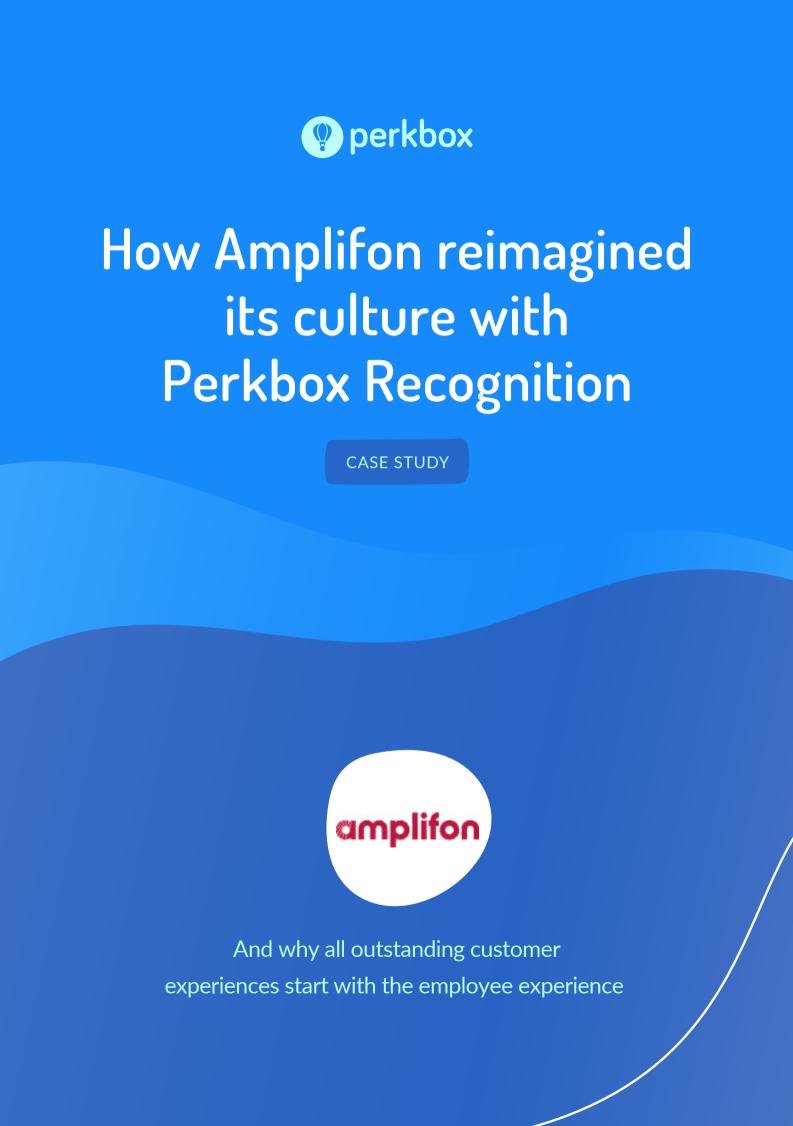 How Amplifon reimagined its culture with Perkbox