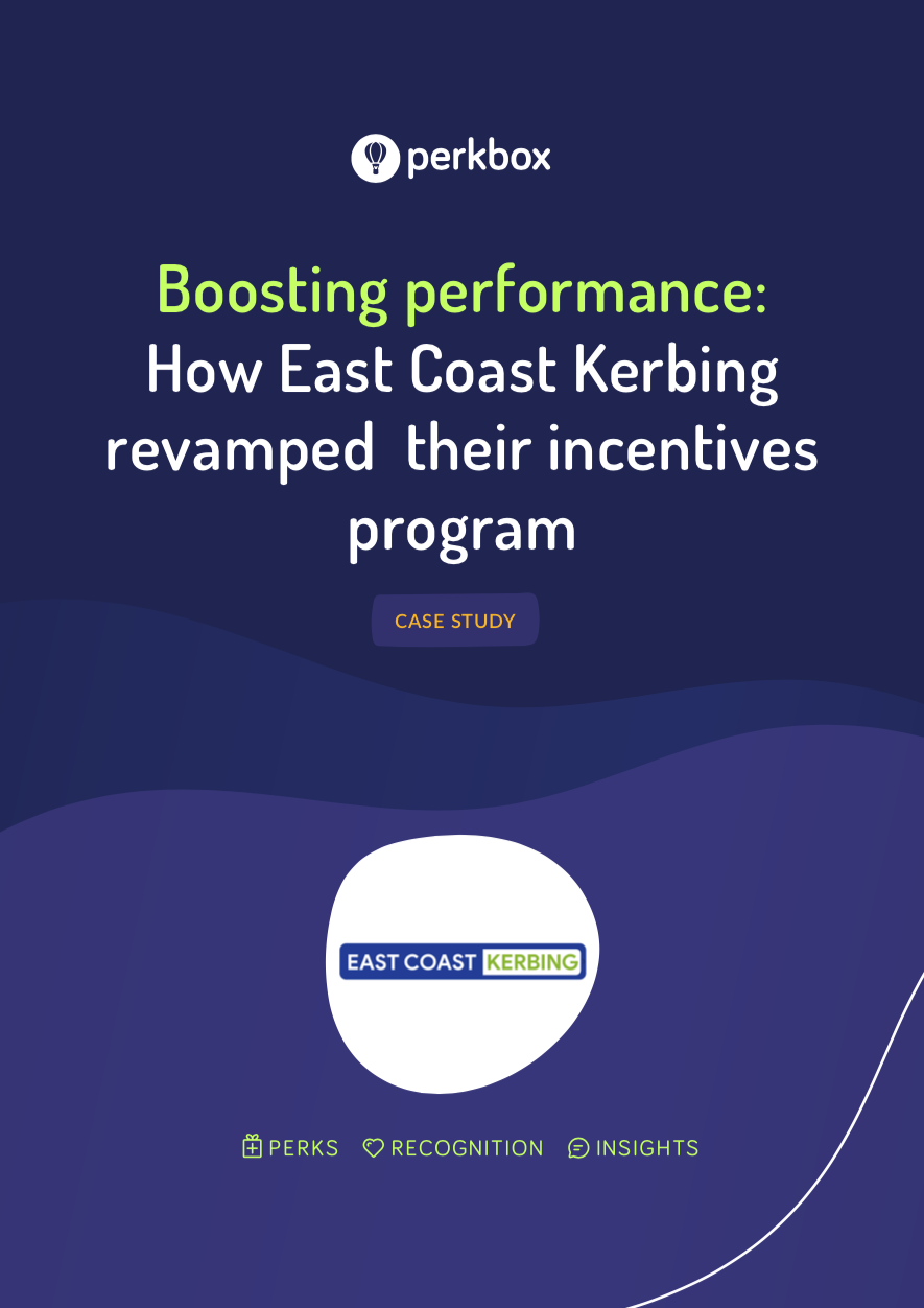 Boosting Performance: How East Coast Kerbing revamped their incentives program