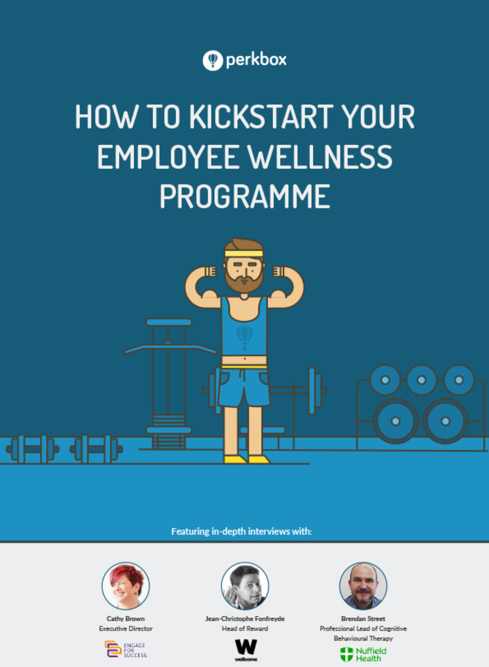 Kickstart your employee wellness programmes