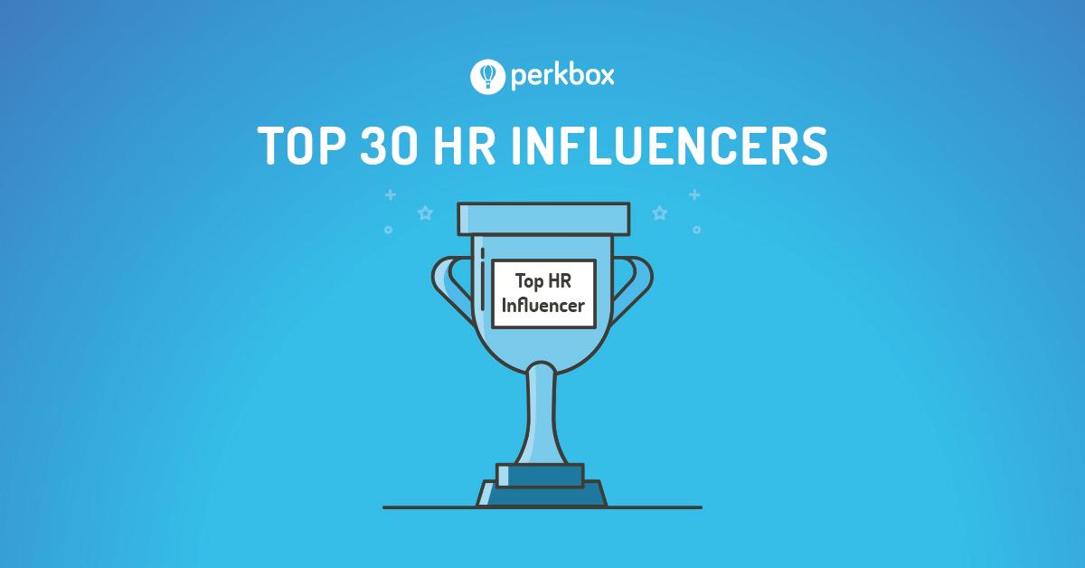 Perkbox Top 30 HR Influencers
