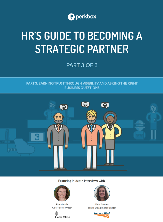 HR's Guide To Becoming A Strategic Partner Part 3