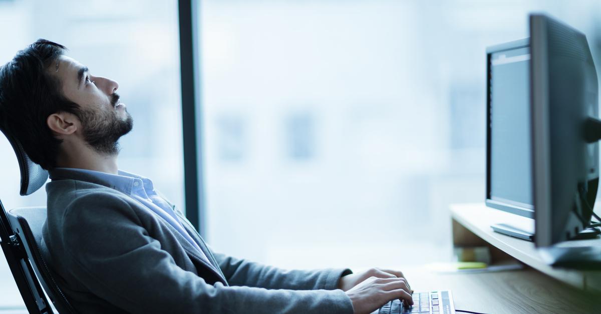 Millennial unhappy with job
